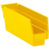 "11 5/8"" x 2 3/4"" x 4"" - Yellow - Plastic Shelf Bins -- BINPS101Y -- View Larger Image"
