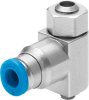 One-way flow control valve -- GRLA-M5-QS-4-LF-C -Image