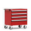 R Mobile Cabinet, 4 Drawers (30