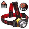 Alkaline Battery Powered Headlamp -- 3AA HAZ-LO LED