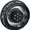 AC Centrifugal Compact Fan -- RER 125-19/56