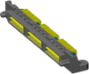 Q Strip® High Speed Interconnects -- QTS-RA Series - Image