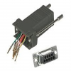 Cables to Go - Serial adapter - DB-9 (F) - RJ-45 (F) - black -- 02943
