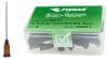 Fisnar QuantX™ 8001141 Straight Blunt End Needle Brown 1.5 in x 19 ga -- 8001141 -Image