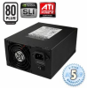 PC Power Silencer 750W Quad Black or Blue PSU | 80+, SLI -- 80766