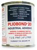 Ashland Pliobond 20 Solvent Based Adhesive Tan 1 pt Can -- PLIOBOND 20 PINT