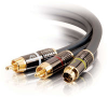1.5ft SonicWave® S-Video + RCA Stereo Audio Cable -- 2202-40166-001 - Image