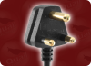 SANS 60799 SOUTH AFRICAN to IEC-60320-C19 HOME • Power Cords • International Power Cords • South Africa Power Cords -- 8586.170 -Image