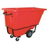 1 cu. yd. - Red- Standard Grade Tilt Truck -- RUB158