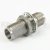1.85mm Female (Jack) to 1.85mm Female (Jack) Bulkhead Adapter, 1.33 VSWR -- SM3927 - Image