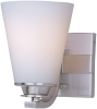 Conical 1-Light Bath Vanity -- 9011SWSN