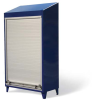 Roll-Up Door Cabinet with Slope Top -- 36-RUD-244-SL