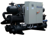 High Efficiency Water Cooled Water Chillers With Semihermetic Screw Compressors -- Hevw EA Plus
