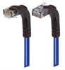 Category 5E Right Angle Patch Cable, Right Angle Up/Right Angle Down, Blue 2.0 ft -- TRD815RA4BL-2 -Image