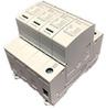 AC Surge Protector SPD I2R-T112 DIN-Rail 230 Vac 3-Phase Wye + CM MOV, GDT 50 kA, IEC 61643-11 Class I+II, CE, RoHS -- I2R-T112-4PG230