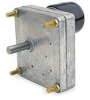 24 VDC Parallel Shaft Gearmotor,1.3 RPM -- 4UHD3 - Image
