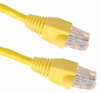 PixelUSA Cat 6 Network Cable 25ft, Yellow -- CB-NE-VA-CAT6-025-YE
