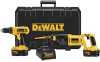 18V Cordless Compact Drill / Recip Saw Combo Kit -- DC759CA