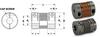 Split Hub Type Bellows Couplings (metric) -- S50MFBMA25H08H10 -Image