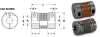 Split Hub Type Bellows Couplings (metric) -- S50MFBMS32H08H08 -Image