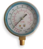 Compound Gauge,2 1/2 In,Vac to 350Psi -- 4CFD5