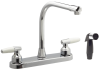 Double Handle Faucet -- E510-Image