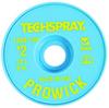 Techspray Pro Wick #2 Yellow Rosin Flux Coating Desoldering Braid 1809-10F - 10 ft Length - 0.055 in Diameter - Rosin Flux Core -- 1809-10F