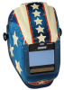 Jackson Safety Insight Halo X Stars & Scars Welding Helmet - Auto-Darkening Lens - 3.93 in Viewing Width - 2.36 in Viewing Height - 036000-46101 -- 036000-46101 -- View Larger Image