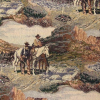 Cowboys Southwest Scenic Tapestry Fabric -- RH-Happy Trails -- View Larger Image