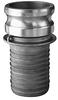 Aluminum Part E Male Adapter x Hose Shank -- AL-E Series -Image