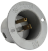 Pass & Seymour® -- Flanged Inlet, Gray - 5378SS