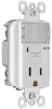 Pass & Seymour® -- Combination Nightlight/GFCI Receptacle - S1595NTLWCC8 - Image