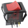 Switch, Rocker, DOUBLE POLE, OFF-NONE-ON, Lighted -- 70131695 - Image