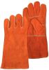 Chicago Protective Apparel Split Cowhide Leather Welding Glove - CPA SA2-R -- CPA SA2-R