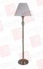 SUNPARK 61009PG ( TABLE LAMP & FLOOR LAMPSHADE, FIBER ANTIQUE BRASS 1 X GU24 26W, 2700K ) -Image