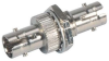 MIL M83522 ST Coupler, Mulitmode & Singlemode Nickel Plated Brass -- FYC00001