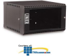 Kendall Howard 6U LINIER Fixed Wallmount Cabinet -- 3140-3-001-06