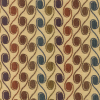 Swirly Circles Fabric -- R-Pacific