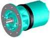 Pneumatic Motor -- PMW160