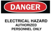 Safety Sign -- 86H6235