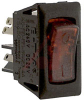 Circuit Breaker;Therm;Rocker;Cur-Rtg 4A;Snap-In Panel;1 Pole;Blade Snap -- 70128769
