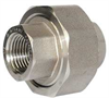 Union,1 In,Threaded,304 Stainless Steel -- 2UA99