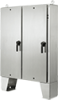 General Purpose Stainless Steel Two-Door Floor-Mount Disconnect Enclosures, Type 4X -- A60HX6118SSLPQT