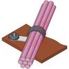Clamp; Soft Steel; Screw; 0.118 in.; 0.22 in.; PVC; 1.1 in.; 0.12 in. -- 70208694 - Image