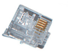 RJ-11 Modular Connectors, Single-Pack -- FM020