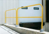 Steel Pipe Safety Railing,42x21 In -- VDKR-3