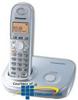Panasonic DECT 6.0 Expandable Digital Cordless Phone.. -- KX-TG6311S