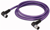 PROFIBUS cable, angled -- 756-1106/060-004