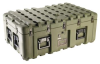 Pelican IS3721-1103 Inter-Stacking Pattern Case - No Foam - Olive Drab -- PEL-IS372111033000000 -Image