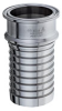 Sanitary Tri-Clamp x Hose Shank Crimp Fitting -- TCS-SS Series -Image